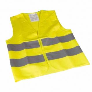 Warnweste Kinder &Jugend gelb Sicherheitsweste Sicherheit Schutzkleidung Westen