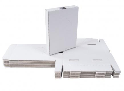 25 Kartons 185x135x35 Versandkarton Faltkarton Großbrief Pappkarton Warensendung