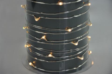 Brema LICHTERKETTE LED-Kupferdraht-Lichterkette 831195 Led 62fl Kupfer