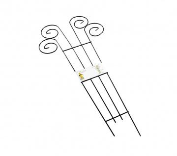 Metall-Blumenspalier 90x39cm Rankhilfe Blumenstütze Rankgitter Pflanzenstütze