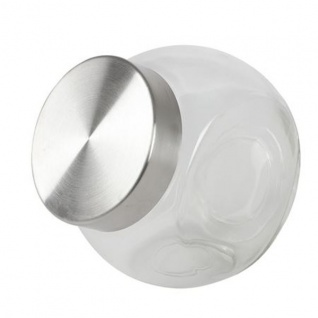 Glas-Bonboniere 1, 3 Liter Bonbonglas Keksdose Gebäckdose Vorratsglas Vorratsdose
