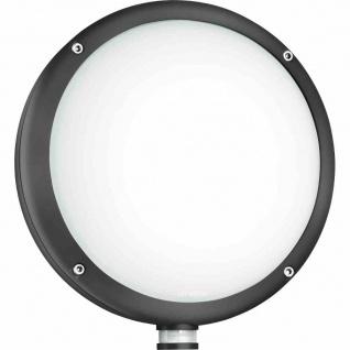 Außenleuchte LED anthrazit 9W Lampe Leuchte Beleuchtung Wandleuchte Wandlampe