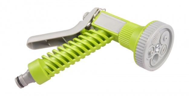 Multifunktions-Gartenbrause 5 Strahlarten Gartenspritze Handbrause Wasserbrause