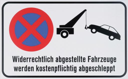 """METAFRANC SCHILD Hinweis-, Warn- und Verbotsschild ,, Abschleppen"""" 501090 Symbol Abschleppen"""