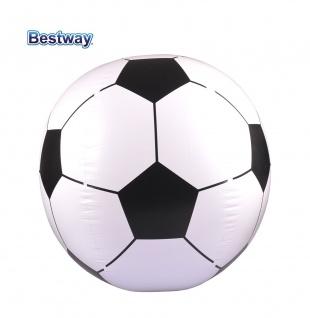Bestway Fußball 84cm Strandball Wasserball Beachball Fussball Ball aufblasbar - Vorschau