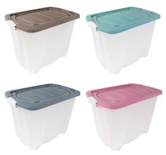 Rollbox Aufbewahrungskiste Spielzeugkiste Transportbox Utensilienbox 60x38x44cm