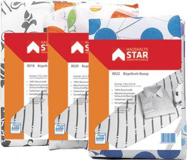 STAR Bügelbrettbezug 8018 Bw 115x38 1600e