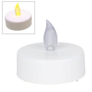 Jumbo LED-Teelichte 2er-Set mit Batterien Kerze elektrische Teelichter Kerzen
