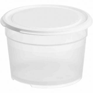 Lebensmittelbehälter rund 0, 6 l