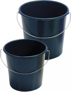 10 x EIMER Haushaltseimer mit Bügel 5Liter Farbe nicht wählbar Kunststoff