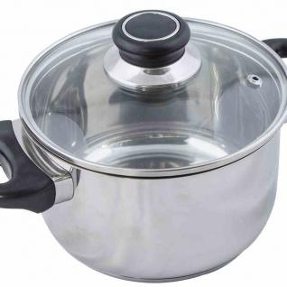Fleischtopf 24cm Kochen Kochutensilien Herd Küche Küchenhelfer Braten Suppen NEU