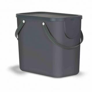 Recycling-Müllsystem Albula 25l anthrazit Mülleimer Abfallsammler Müll Abfall