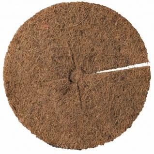 Kokos Mulchscheibe Durchmesser:25cm Pflanzen Pflanzenschutz Winterschutz Garten
