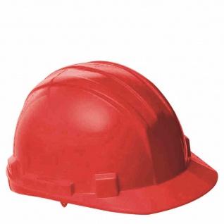 Schutzhelm rot Arbeitsschutzhelme Helm Helme Arbeitsschutz Sicherheit Schutz TOP