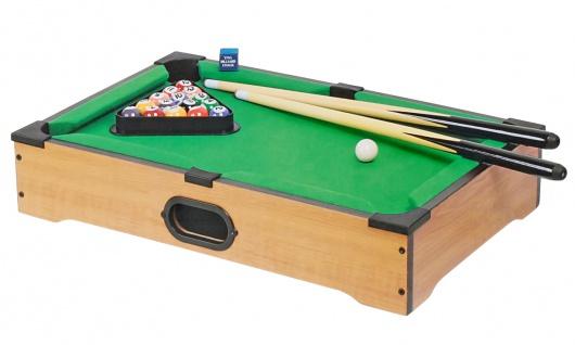 Mini-Billardtisch mit Zubehör Tischbillard 50x30, 5cm Minibillard Pool Snooker