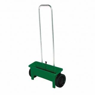Streuwagen 12 Liter mit Streutabelle, Farbe: grün