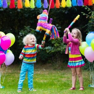 Pinata-Schlagstock 50cm Kindergeburtstag Piñata Partyspiel Motto Party Feier - Vorschau 2
