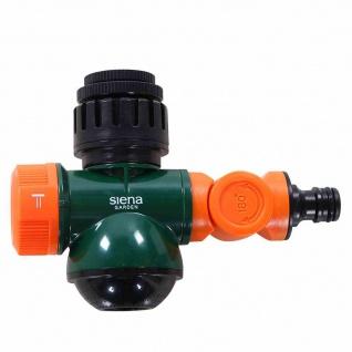 Multifunktionsanschluss 3-fach verstellbar Wasserhahn Gartenschlauch bewässern