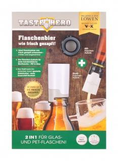 TASTE HERO Bier-Aufbereiter Glas PET Flasche Flaschenaufsatz Die Höhle der Löwen