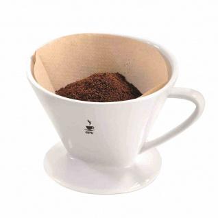 Kaffee-Filter Porzellan Kaffezubereiter Kaffee Espresso Heißgetränk Küche Kochen