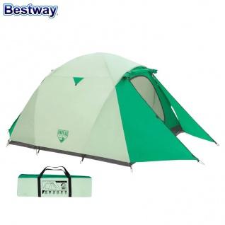 Bestway Campingzelt Cultiva X3 Igluzelt Kuppelzelt Outdoor Trekking 3 Personen