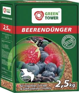 GREEN TOWER GT Beerendünger Beeren Duenger 2.5 Kg Pkt
