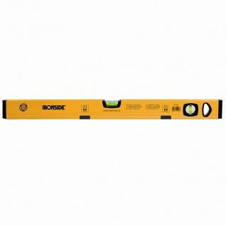 Magnet Alu-Wasserwaage 100cm, 2 Libellen, gelb beschichtet