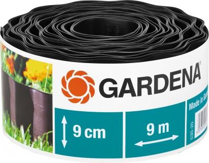 Gardena Beeteinfassung 530 Braun 9cm