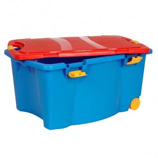 Aufbewahrungsbox bunt Spielzeugkiste Rollenbox Allzweckbox Aufbewahrungskiste