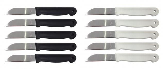 Obstmesser 5er-Set Schälmesser Gemüsemesser Küchenmesser Messerset rostfrei