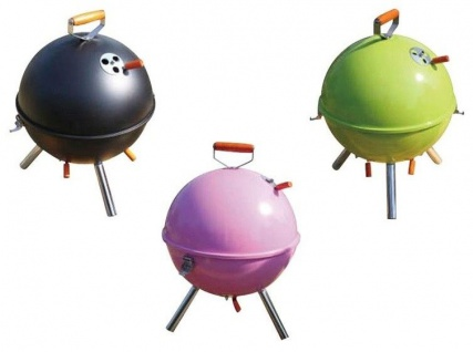 Barbecue Kugel-Tischgrill Campinggrill Picknickgrill Holzkohlegrill Standgrill