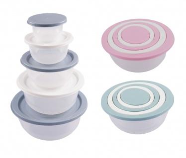Schüssel-Set 5tlg Rührschüssel Salatschüssel Servierschüssel Schalen Schüsseln