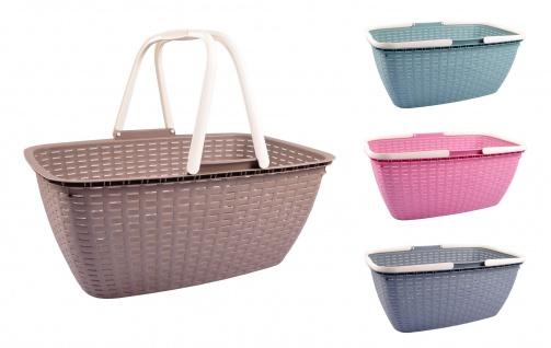 Wäschekorb Wäschesammler Wäschebox Wäschewanne Aufbewahrungkorb Einkaufskorb