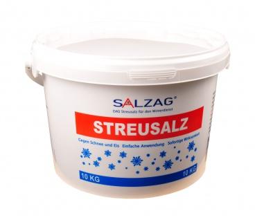 10kg Streusalz im Eimer Auftausalz Straßensalz Tausalz Streumittel Steinsalz