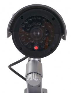Überwachungskamera-Attrappe LED Dummy Fake Kamera Camera CCD außen und innen - Vorschau 2