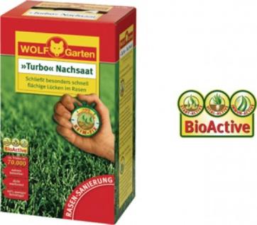 Wolf WOLF Garten Turbo-Nachsaat 3826030 Nachsaat- Rasen 50qm Lr50