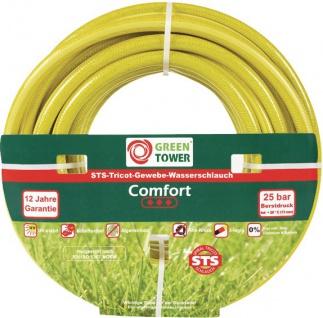 "GREEN TOWER GT Wasserschlauch Tricot ,, Comfort"" Tricot-schlauch Comfort 3/4x50mtr"