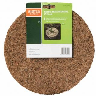 Kokos-Mulchscheibe Durchmesser:25cm