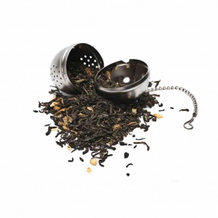 Tee-Ei mit Kette 5 cm Inox
