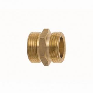 """Messing Gewindenippel 25mm (1"""")x 32mm (1 1/4"""") reduziert"""