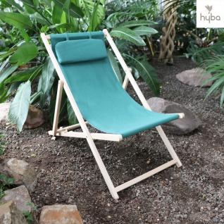 Hyba Holz-Liegestuhl Chilienne Relaxliege Strandliege Terrassenliege Gartenliege