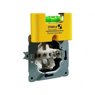 Pocket Electric Wasserwaage 6, 7cm Präzisionswasserwaage Messtechnik Werkzeug TOP