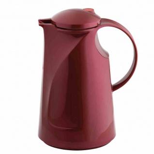 Isolierkanne 1l shiny burgund Thermoskannen Kanne Isolierflasche Kanne Flasche
