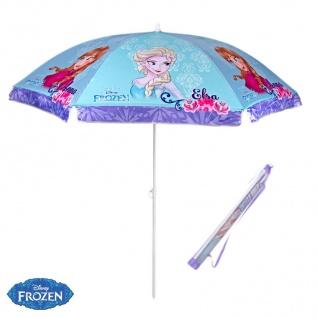 FROZEN Kinder Sonnenschirm 140cm mit Tasche Strandschirm Gartenschirm UV-Schutz