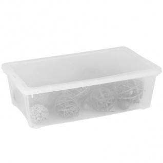 Klarsichtbox 33x20x11cm Aufbewahrungsbox Allzweckbox Spielzeug Stapelbox Plastik
