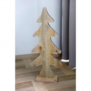 Holz-Weihnachtsbaum 28, 5x65x10cm Tannenbaum Weihnachtsdeko Dekotanne Tischdeko