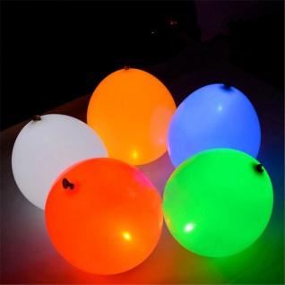 LED Luftballons 5er-Set bunte Ballons Partydekoration Geburtstag Party Hochzeit
