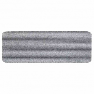 Stufenmatte Step grau 25x60cm Türmatte Schmutzfangmatte Fußabtreter Bodenmatten