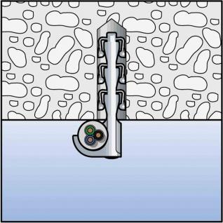 SF Steckfix + Einzelschelle 3-12mm 100Stk Befestigung Leitungsschlaufe Dübel TOP