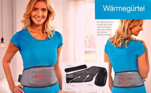 Wärmegürtel USB und Netzadapter Heizkissen Wärmekissen Heizgürtel Rückenwärmer